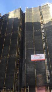 Izolimi Termik pallateve Tirane. Financon gjysmen Bashkia Tirane
